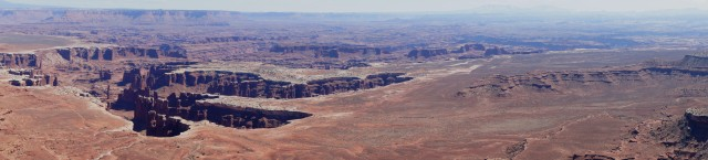 Panorama of Monument Basin and the White Rim