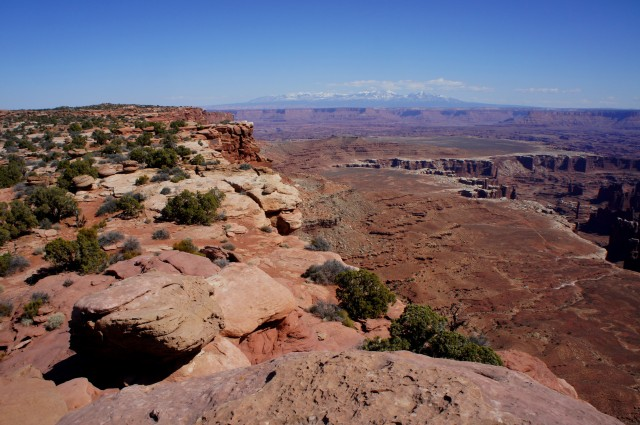 Grand View Point Trail, Canyonlands National Park (Island in the Sky District), March 2015