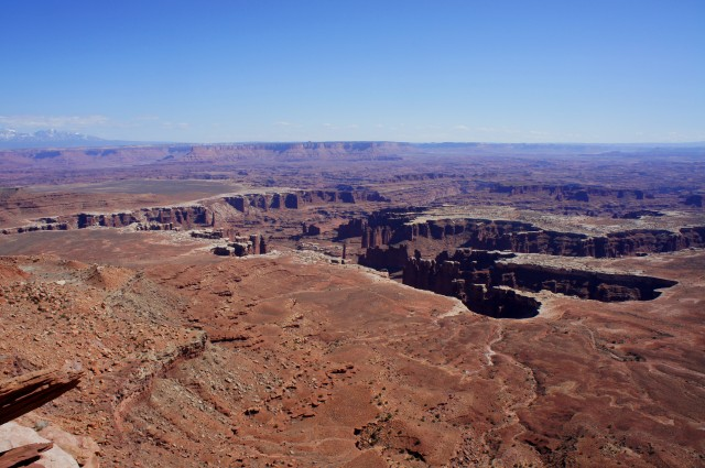 Monument Basin from Grand View Point