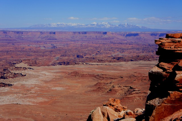 White Rim Overlook Trail, Canyonlands National Park (Island in the Sky District), March 2015