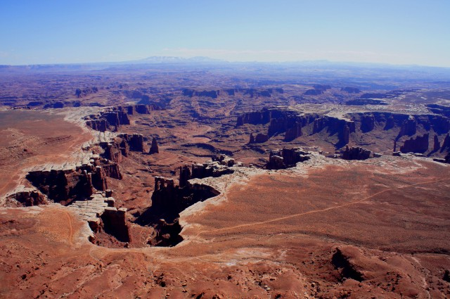 Monument Basin from the White Rim Overlook
