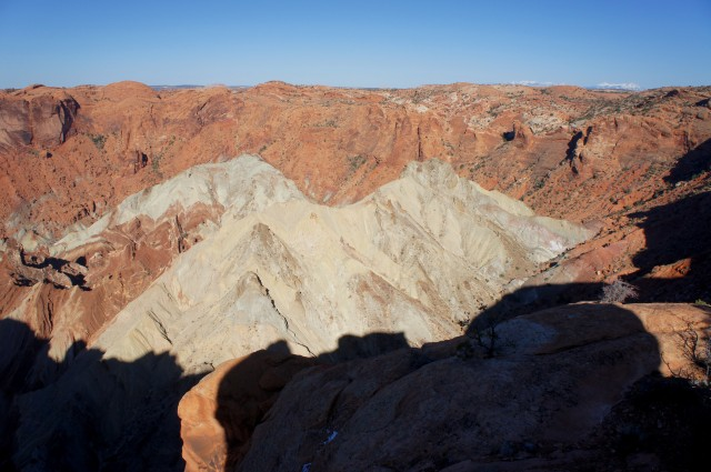 Upheaval Dome Trail, Canyonlands National Park (Island in the Sky District), March 2015