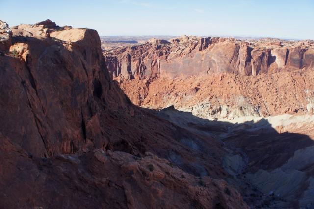 View from the second overlook, Upheaval Dome Trail