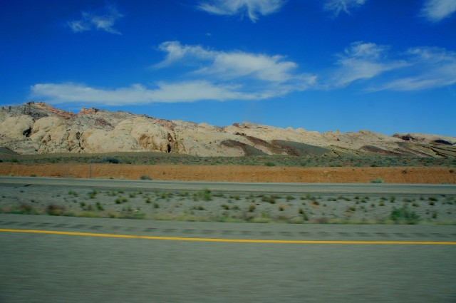 East face of San Rafael Reef, en route to Green River and beyond