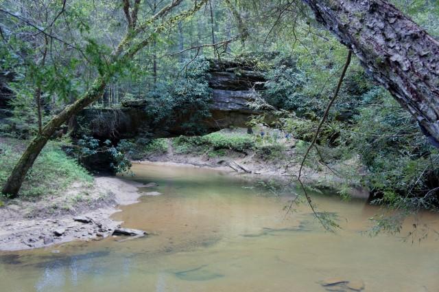 Rock Bridge from the opposite side