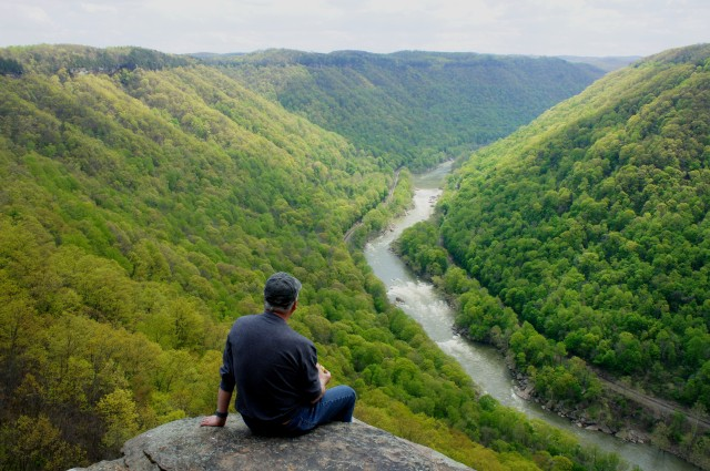 View of New River Gorge from Diamond Point