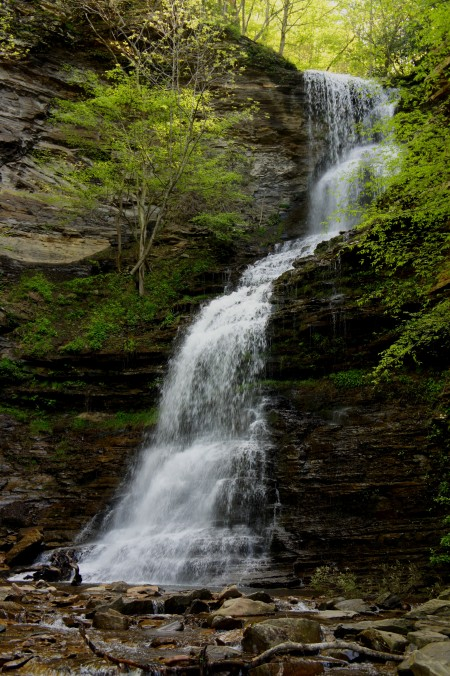 Cathedral Falls, Gauley Bridge, WV, April 2015