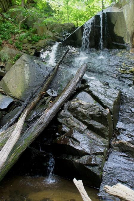 Windy Run Falls along the Potomac Heritage Trail