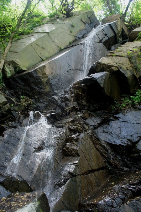 Second waterfall along the Potomac Heritage Trail