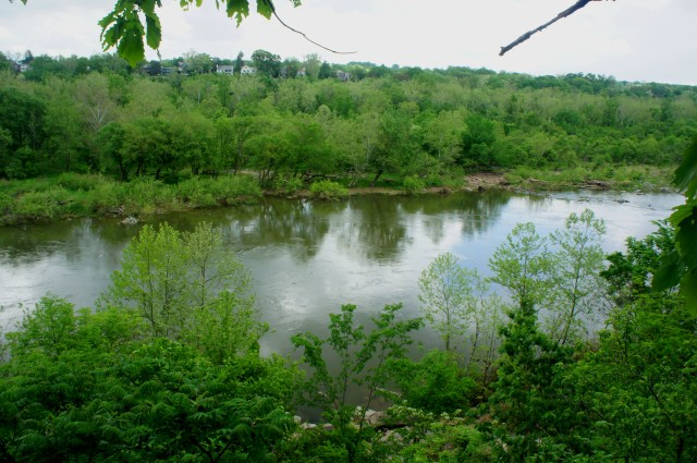 Potomac River from the Potomac Heritage Trail