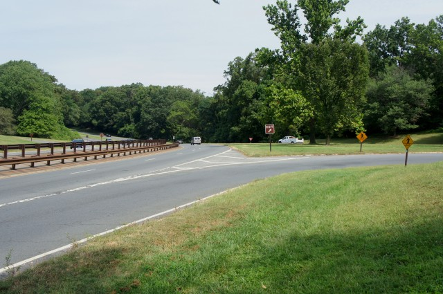 Paralleling the GW Parkway