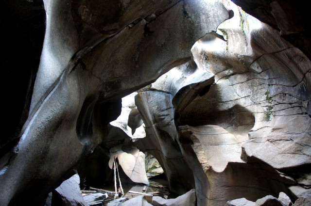 Ice caves, Grottos Trail, White River National Forest, CO