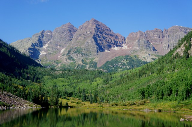 Maroon Lake Trail, White River National Forest, August 2015