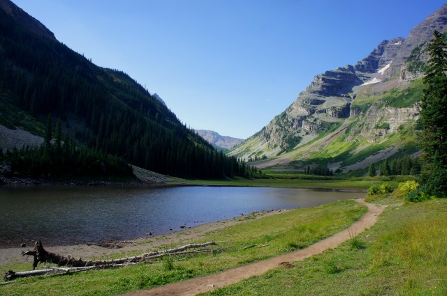 Crater Lake Trail, White River National Forest, August 2015