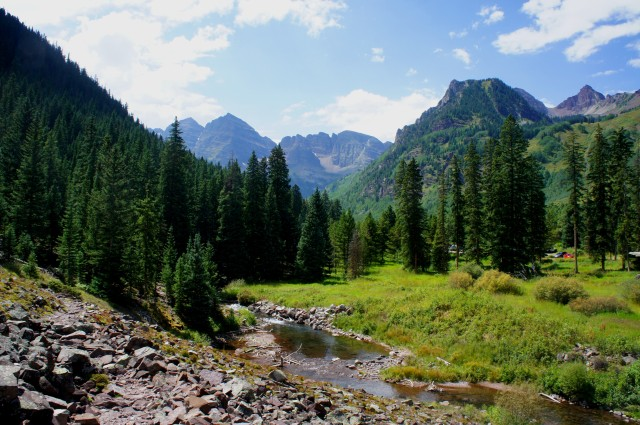 Maroon Creek Trail, White River National Forest, August 2015