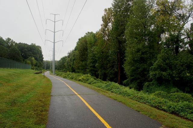 W&OD Trail through Bluemont Park