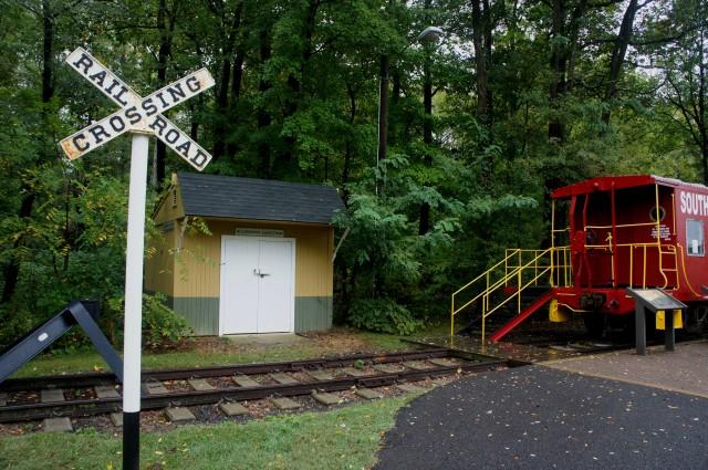 Bluemont Junction, W&OD Trail, Arlington, Virginia, October 2015
