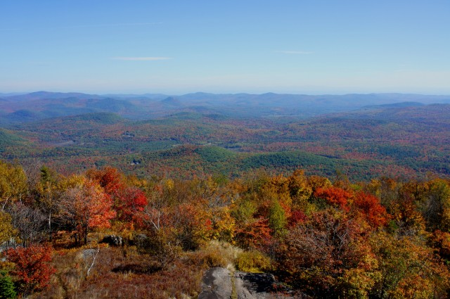 View south from the Hadley Mountain fire tower