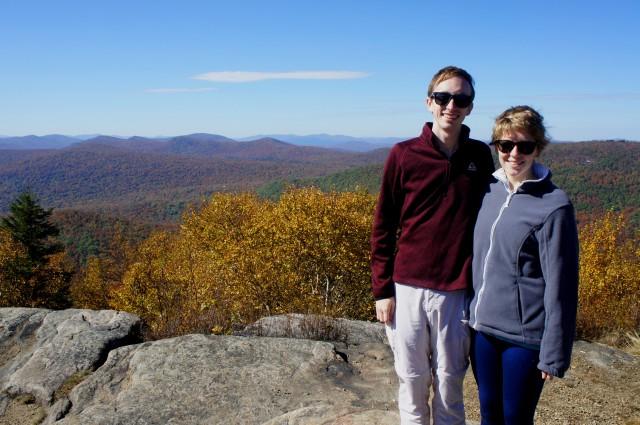 Hadley Mountain summit in the southern Adirondacks