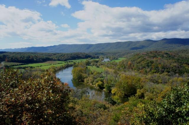 Culler's Overlook, Shenandoah River State Park