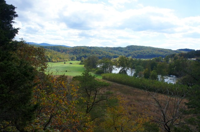 View from Observation Point, Redtail Ridge Trail, Shenandoah River State Park