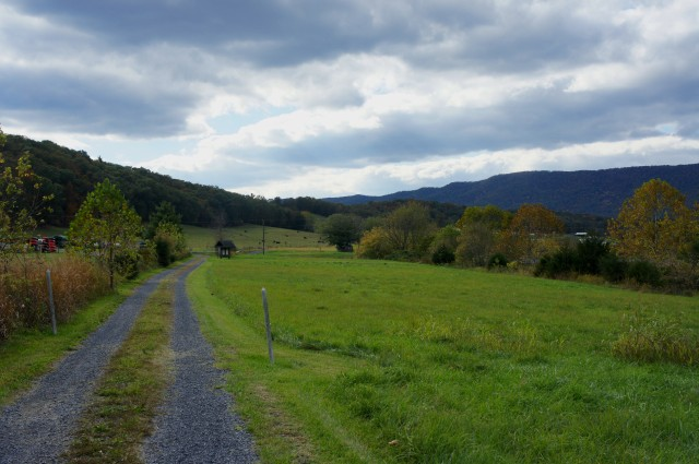 Culler's Trail near southern boundary of Shenandoah River State Park