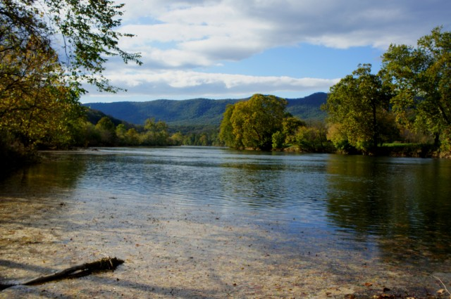 Shenandoah River from River Trail