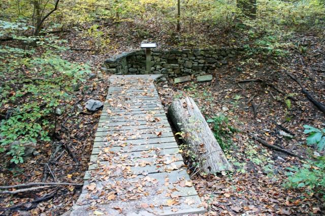 Indian Spring on the Heritage Loop Trail, Potomac Overlook Regional Park