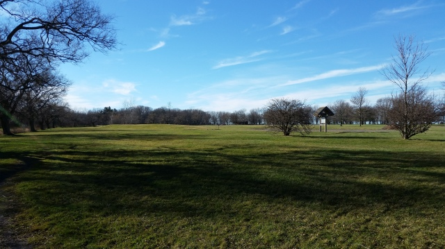 Open fields of Evangola State Park