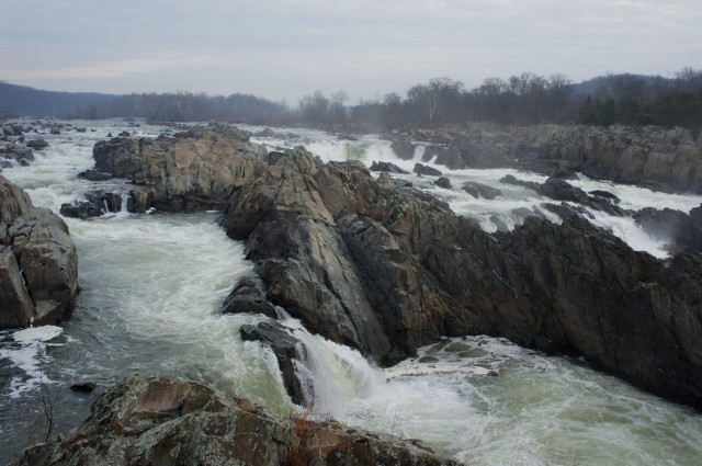 View of Great Falls from overlook #1