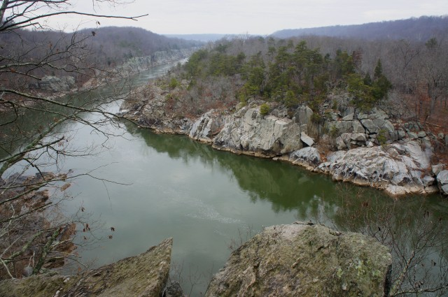 Excellent view from Cow Hoof Rock, River Trail, Great Falls Park