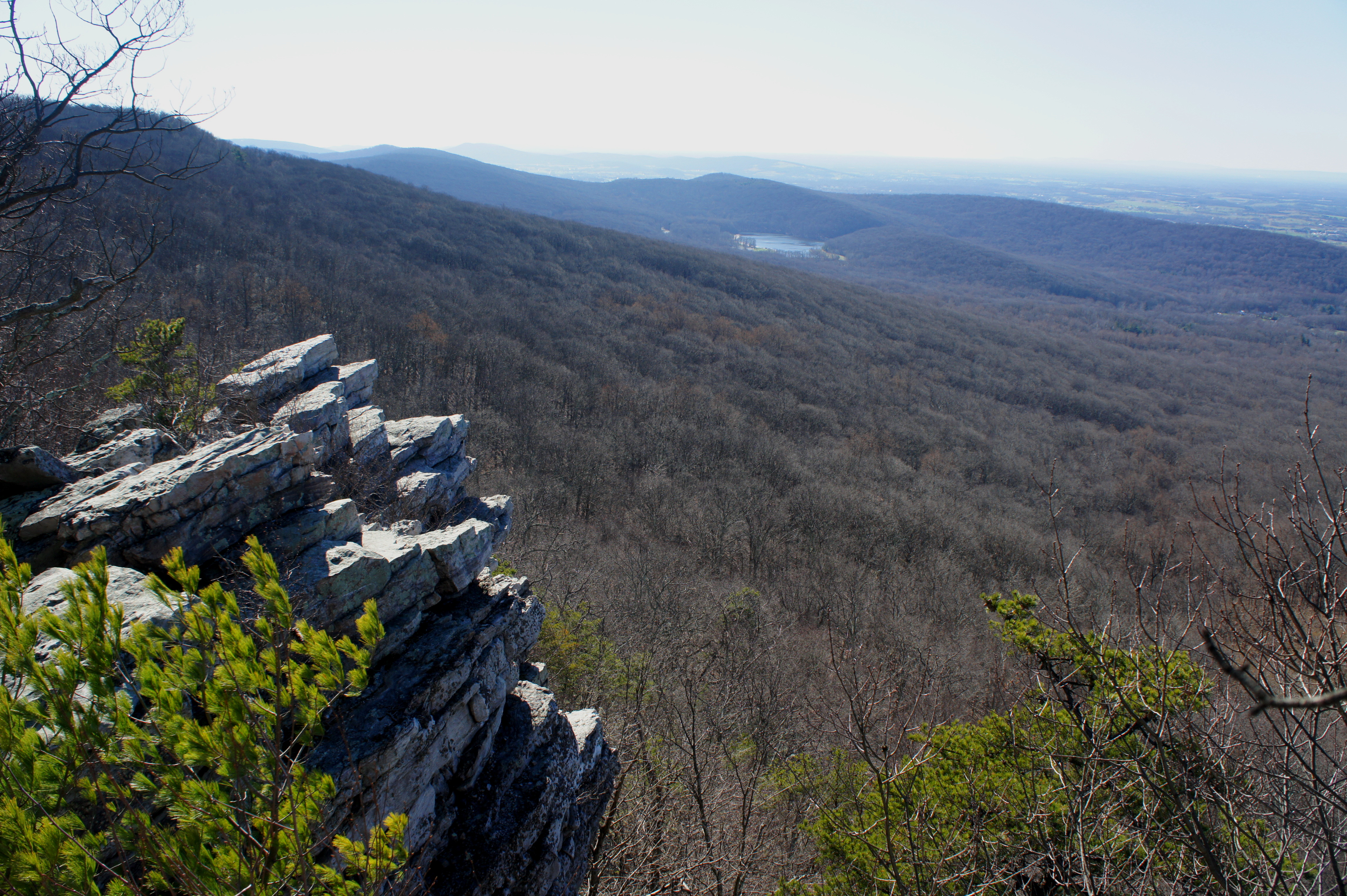 Appalachian Trail To Annapolis Rocks And Black Rock South