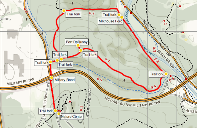 fort-derussy-loop-rock-creek-trail-map