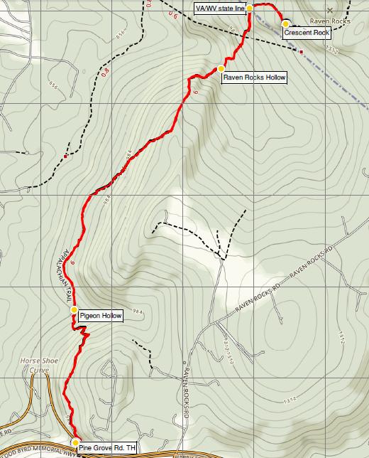 raven-rocks-appalachian-trail-map