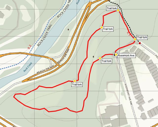 rosemont-loop-trail-rock-creek-park-map