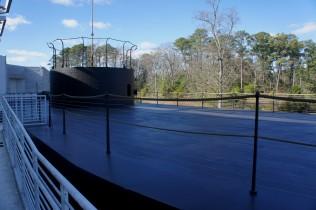 Scale replica of the USS Monitor