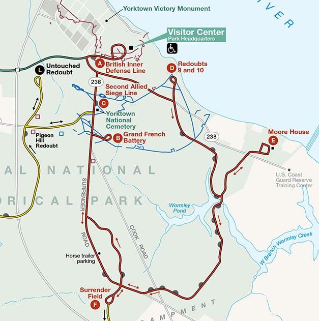 Yorktown map