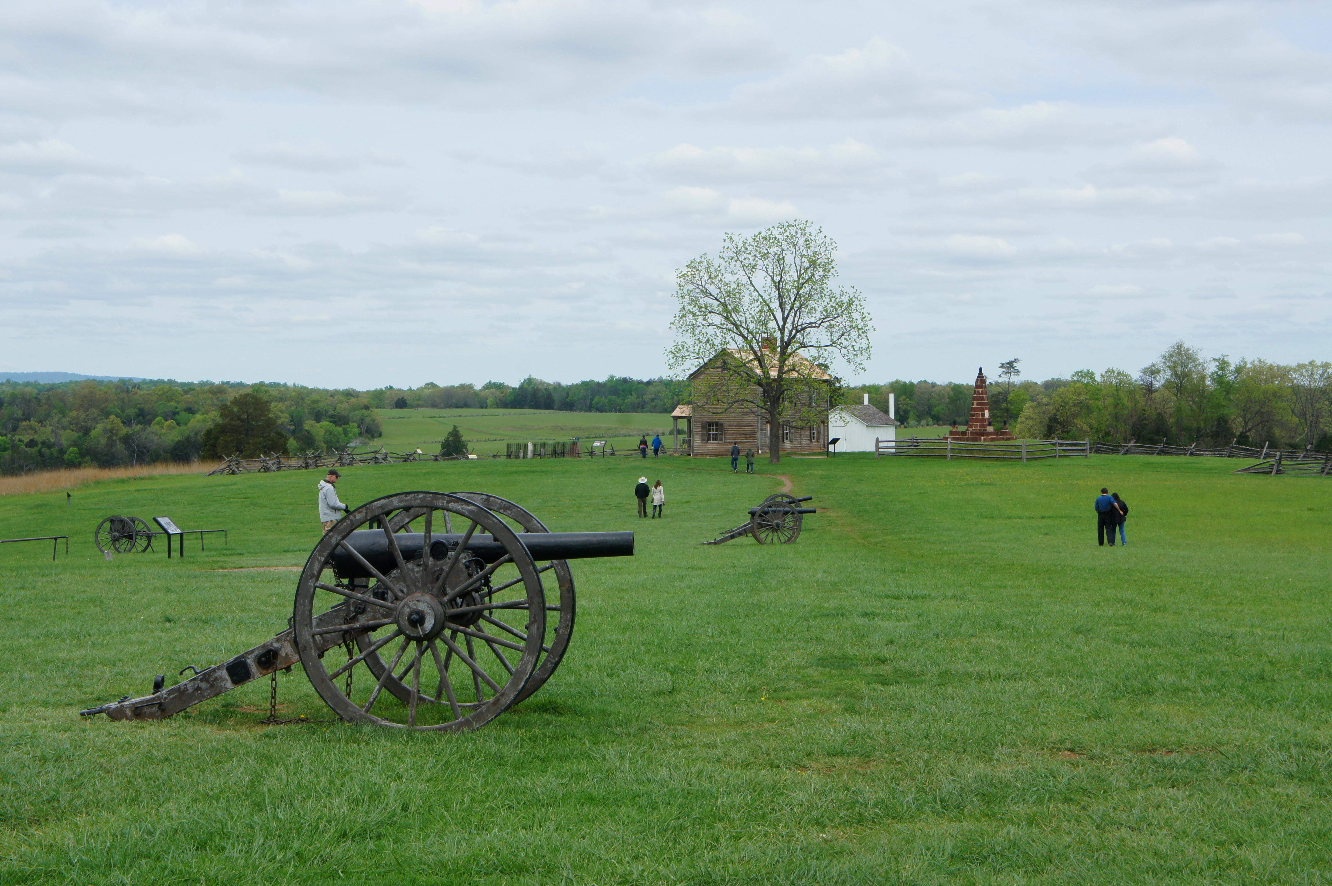 Henry Hill Loop Trail Manassas National Battlefield Park