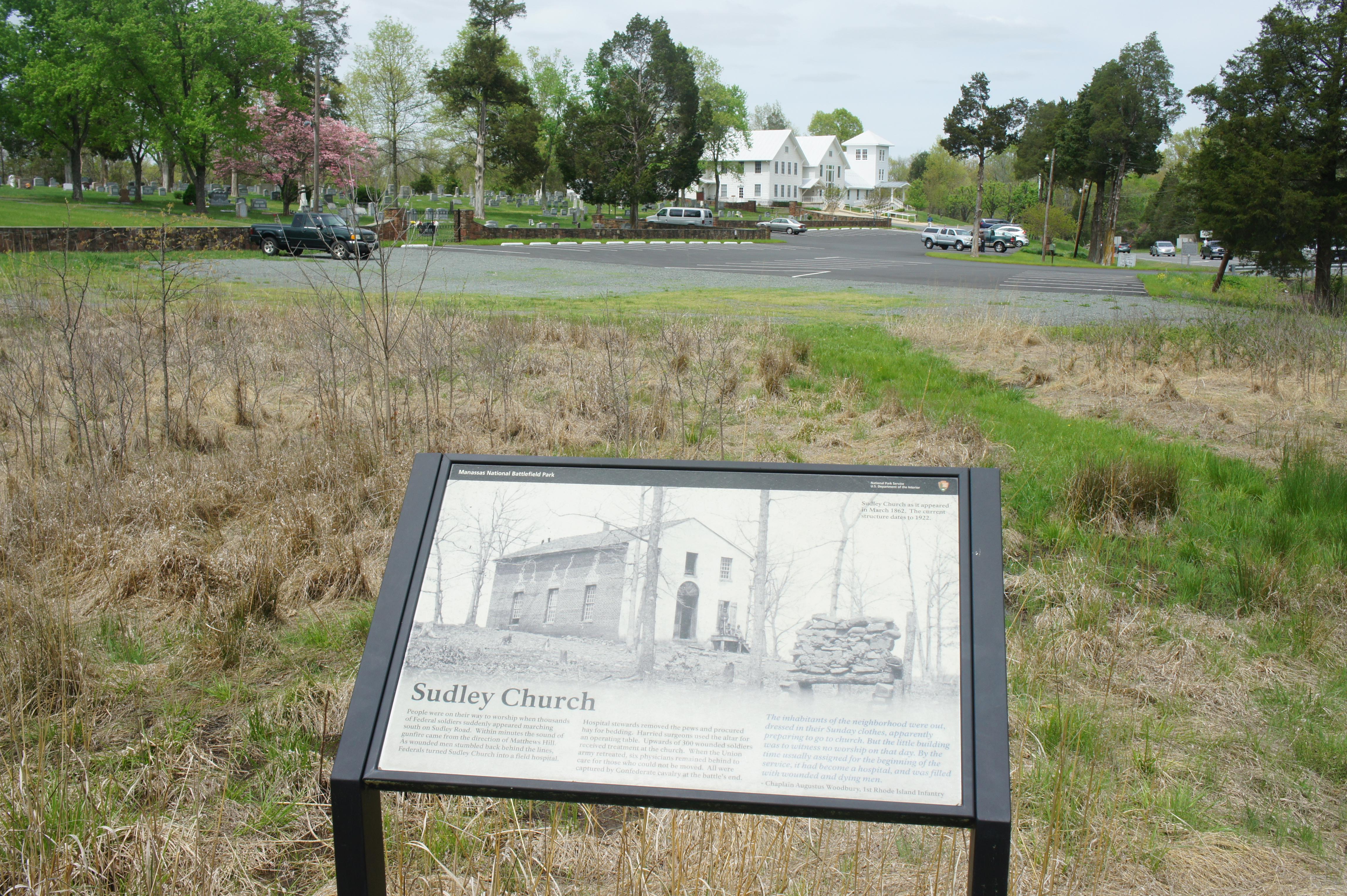 Sudley Loop Trail Manassas National Battlefield Park VA