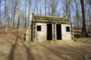 Officer's hut