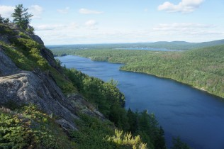 Northern view of Echo Lake and Somes Sound