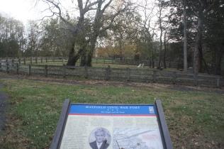 Cemetery at Mayfield Fort, Manassas, Virginia