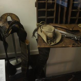 Effects of famous Confederate cavalryman J.E.B. Stuart