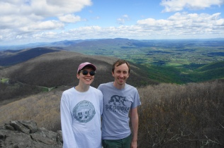 Sarah and I at Humpback Rocks