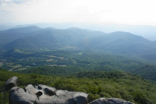 Blue Ridge from Buzzard's Roost