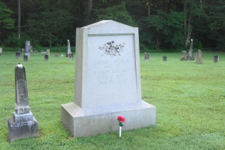 Grave of Sarah Grigsby Lincoln (Abraham's sister)