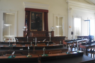 Former Illinois House of Representatives chamber