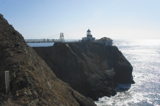 First views of Point Bonita Lighthouse