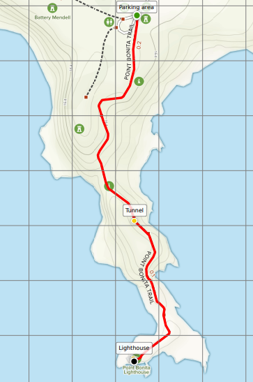 Point Bonita Lighthouse Trail map PDF