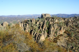 Pinnacles from the High Peaks Trail